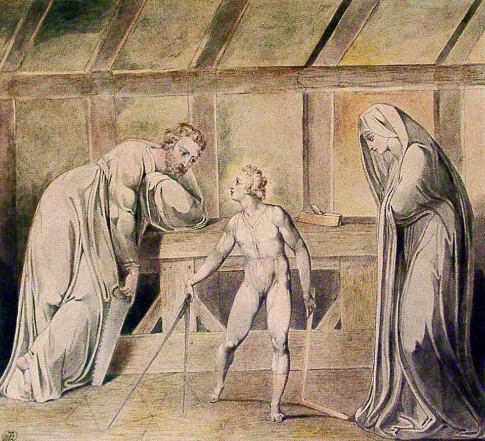 GR004 - William Blake - 1757-1827 - Christ in the Carpenter's Shop - ca 1803-5 (3)