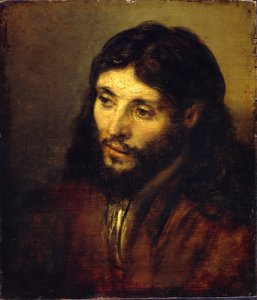 "ZBD_Head_of_Christ-%22Portrait of a Young Jew%22Rembrandt's ""Head of Christ (c. 1648-165"