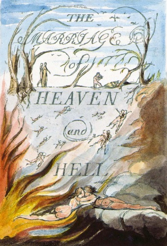 Frontispiece of Blakes Marriage of Heaven and Hell (1)