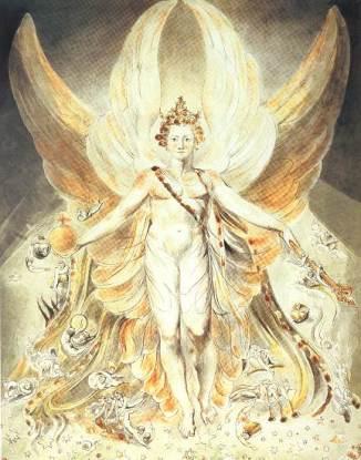 William Blake Satan in Glory