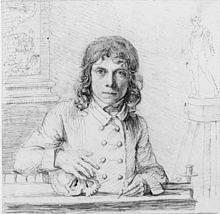 220px-Selfportraitflaxman-John Flaxman R.A. (6 July 1755 – 7 December 1826 (1)