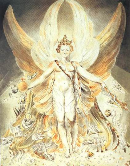 William Blake Satan in Glory