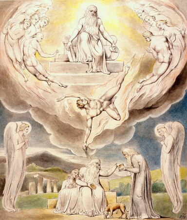 William_Blake_-_Satan_Going_Forth_from_the_Presence_of_the_Lord (1)