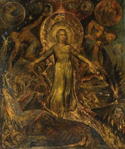 The Spiritual Form of Pitt Guiding Behemoth ?1805 William Blake 1757-1827 Purchased 1882 http://www.tate.org.uk/art/work/N01110