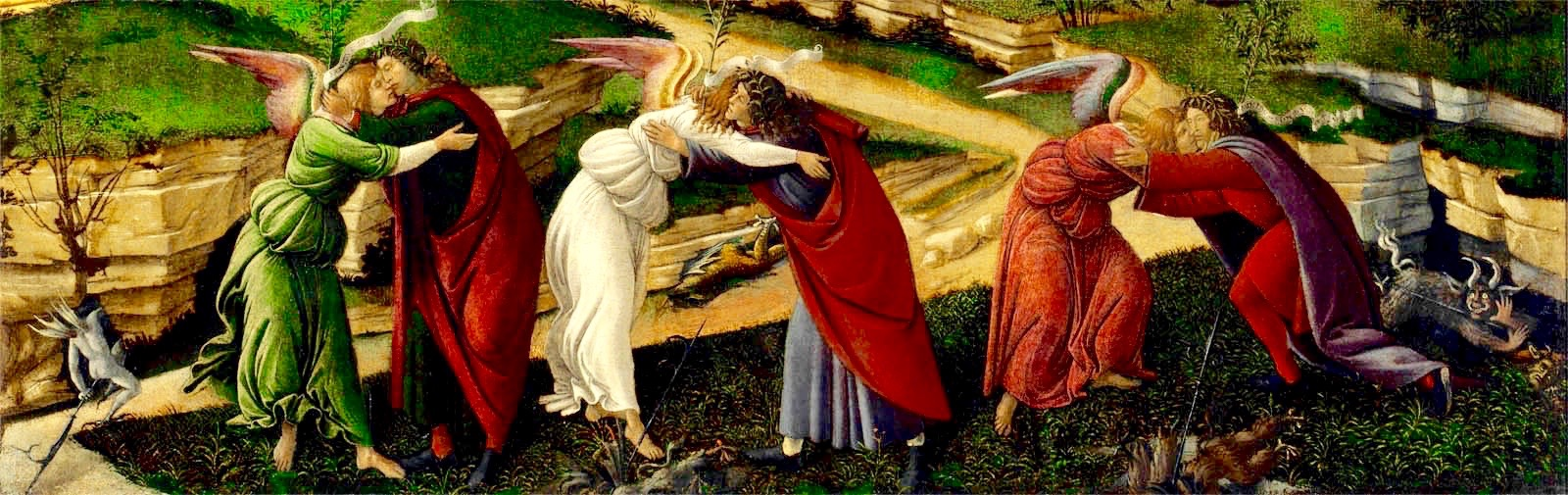 Sandro Botticelli Natività mistica Mystic Nativity, 1501