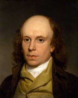 by Henry Howard, oil on panel, circa 1797