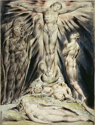 william-blake-michael-foretells-the-crucifixion