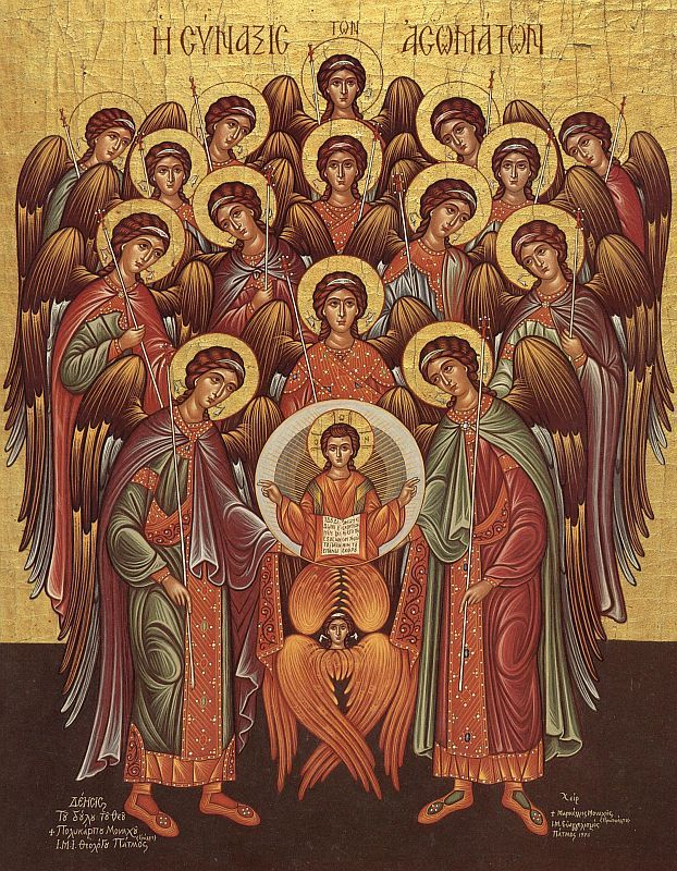 Iconography of the Angels and Other Bodiless Powers